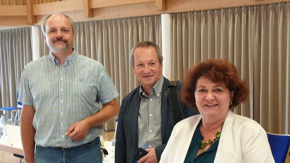 Die SPD Fraktion im Oberallgäuer Kreistag: Markus Kubatschka, Dr. Gerhard Wimmer, Vera Huschka